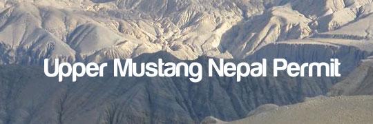 Upper Mustang Trek Permit