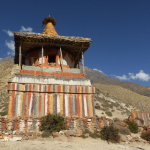 Chorten Close To Chhunggar