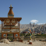 Chorten at Tsarang