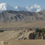 Tsarang With Tilicho And Nilgiri
