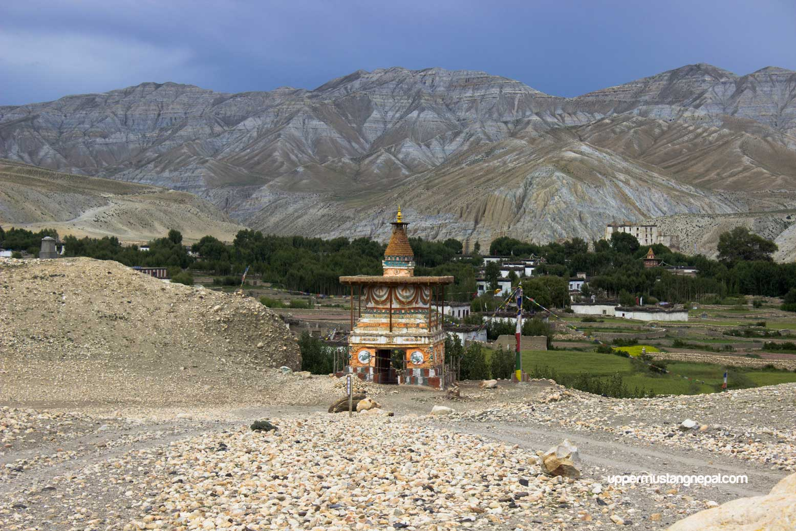 Chortan-before-lo-manthang