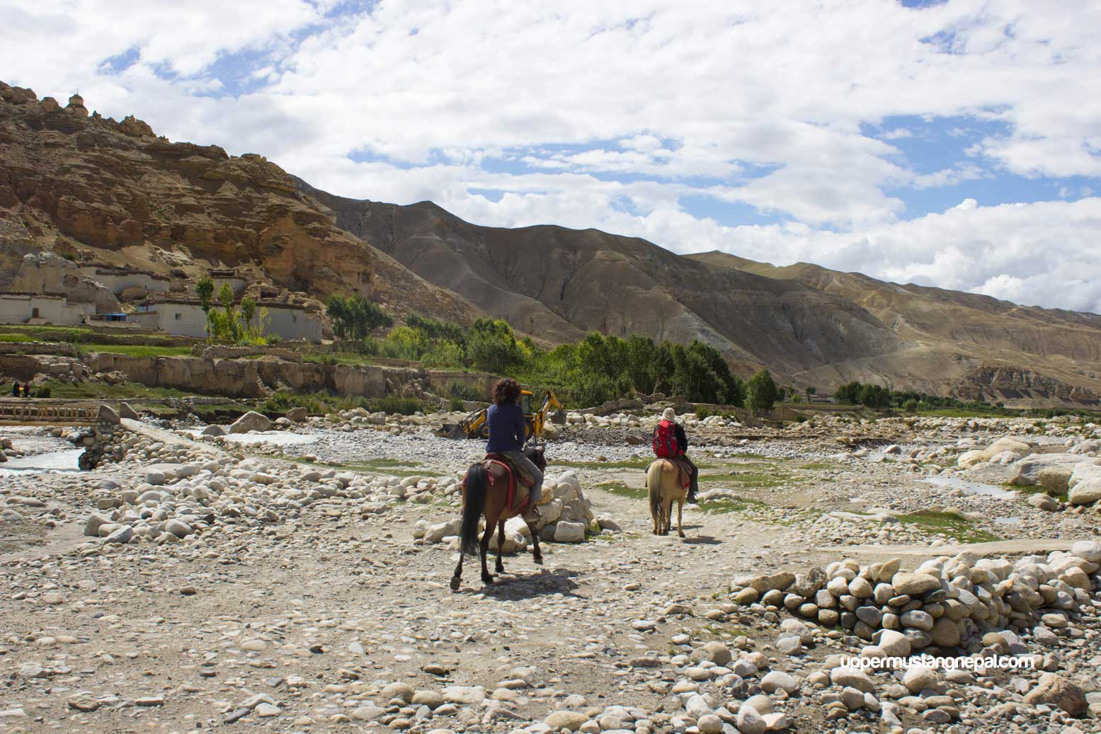 lo-manthang-to-chhoser-by-horse